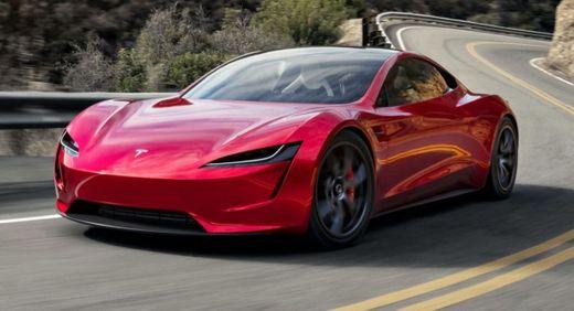 Tesla Roaster Red