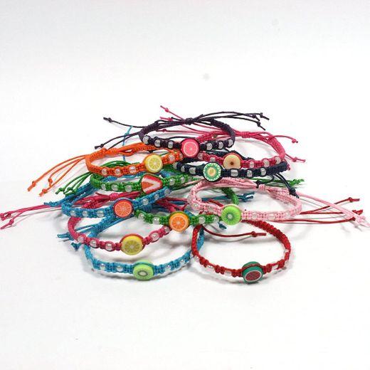 Macrame Friendship Bracelets Wristbands Colours