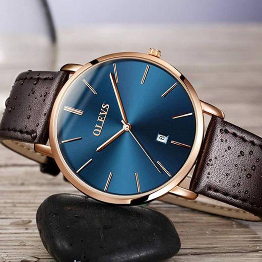 Men Ultra Thin Watches, OLEVS Luxury Fashion ... - Amazon.com