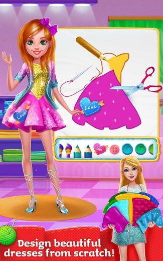 Design it Girl! Crazy Salon Fashion