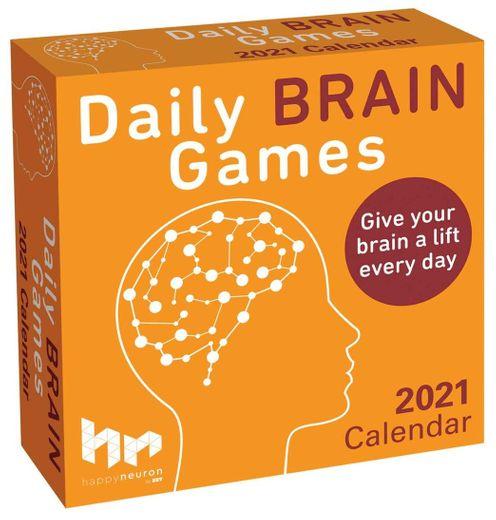 HAPPY neuron Daily Brain Games 2021 Calendar activities