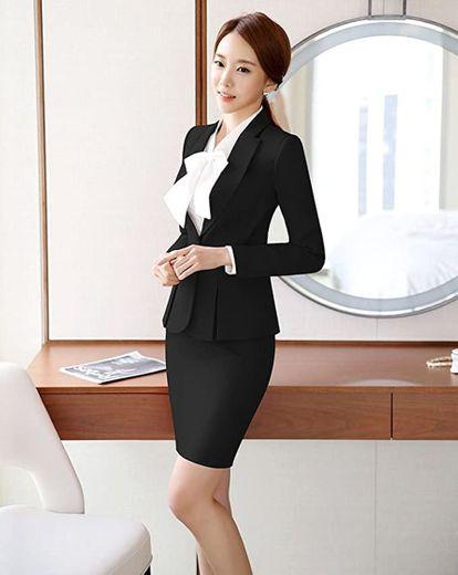 SK Studio - Traje de trabajo formal para mujer: Clothing - Amazon.com