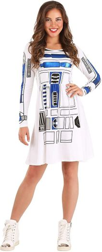 Amazon.com: STAR WARS Women's I am R2D2 Skater Dress ...