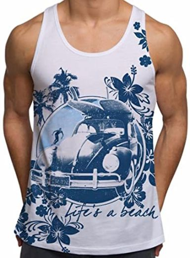 Amazon.com: Holiday Vests for Men Life's A Beach Summer ...