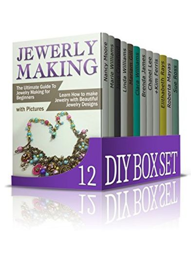 DIY Box Set 12 Books: 1. Jewelry Making; 2. Candle Making; 3 ...