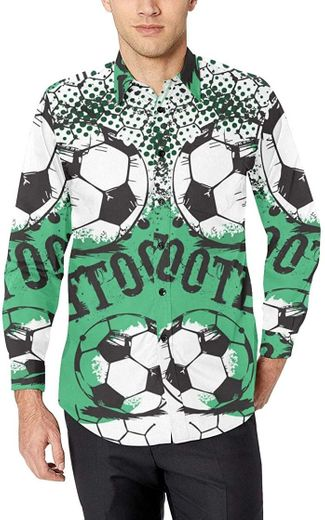 WJJSXKA Abstract Football Printed Fashion