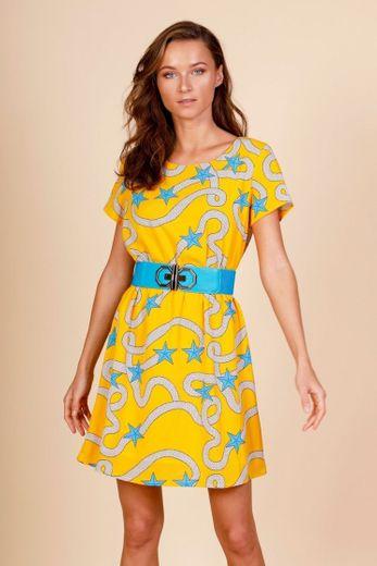 Minueto Yellow Sailor Dress