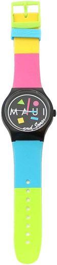 Maui and Sons - Reloj multicolor: Clothing - Amazon.com