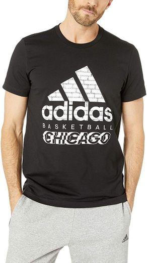 adidas Men's Badge of Sport Cities Tee: Clothing - Amazon.com