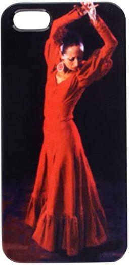 young Spanish woman dancing flamenco in ... - Amazon.com