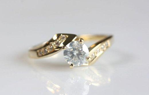 Engagement Ring Engagement Promise Anniversary B07BKPNVRG