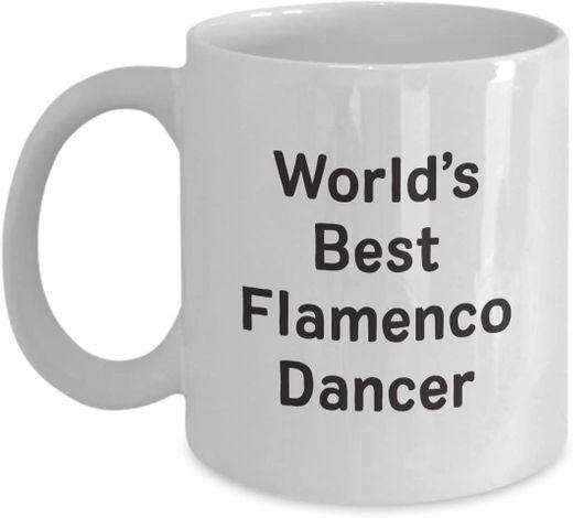 World's Best Flamenco Dancer Mug | Ceramic Coffee ... - Amazon.com