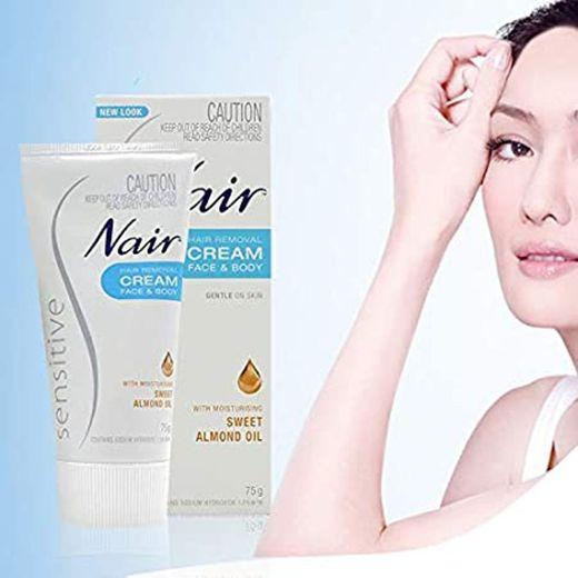 New Look Nair Sensitive Hair Removal Cream Body ... - Amazon.com
