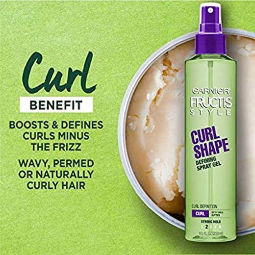 Garnier Fructis Style Curl Renew Spray de leche ... - Amazon.com