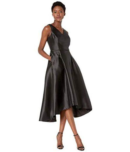 Tahari ASL Women's Hi-Low Mikado Cocktail Dress at Amazon ...