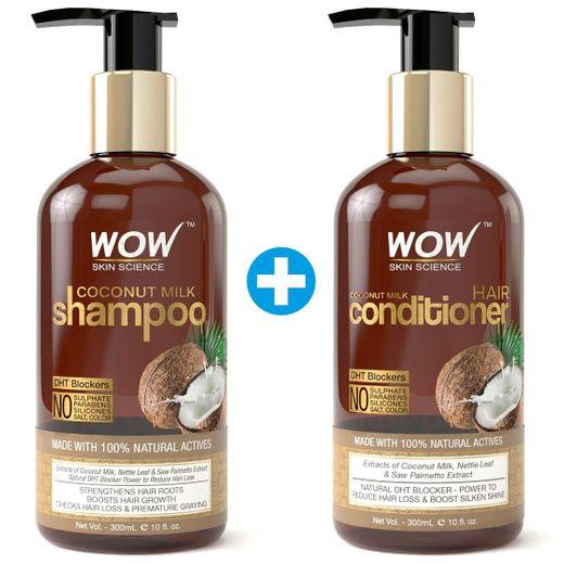 WOW Coconut Milk Shampoo and Conditioner Set ... - Amazon.com