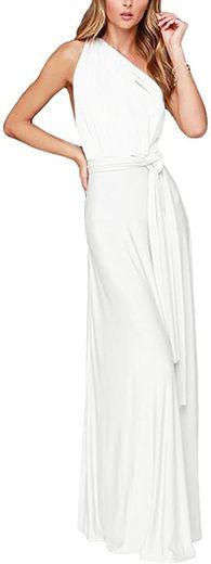 Vestido de noche mil formas para mujer, vestido largo ... - Amazon.com