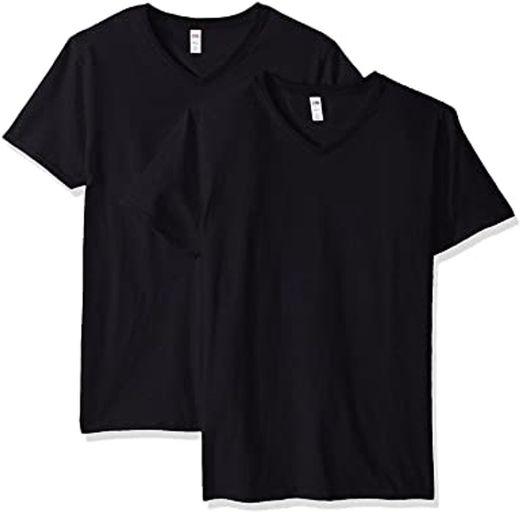 Fruit of the Loom Men's V-Neck T-Shirt (2 Pack)   Amazon.com