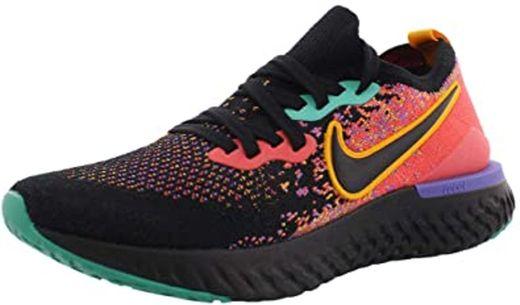 Nike Zapatillas de running Epic React Flyknit 2 para mujer: Amazon ...