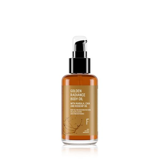 Aceite Corporal Natural   Golden Radiance   Freshly Cosmetics
