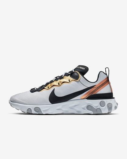 Nike React Element 55 - Platino