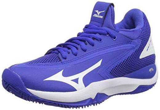 Mizuno Wave Impulse CC, Zapatillas de Tenis Mujer, Azul