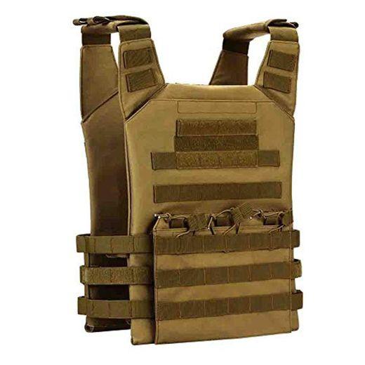 Gocher Táctico Ajustable MOLLE Vest CS Equipo Militar Entrenamiento Juego de Guerra