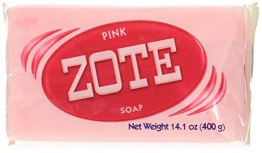 Zote Jabón rosa paquete de 3 Total 14