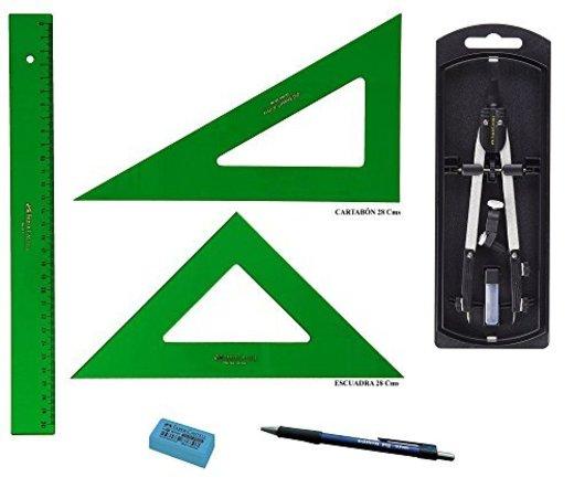 PACK LOTE Faber Castell Técnico - Regla 813-30 Cms
