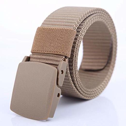 Wicemoon Cintur/ón de Lona T/áctico Correas Casuales Correas Para Mujeres Hombres Jeans Pretina