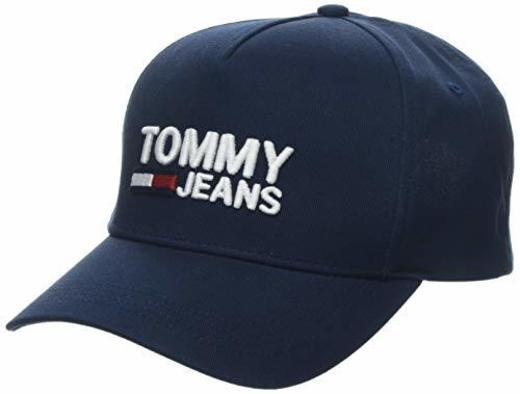 Tommy Hilfiger Tjw Logo Cap Gorra de béisbol, Azul, Talla única