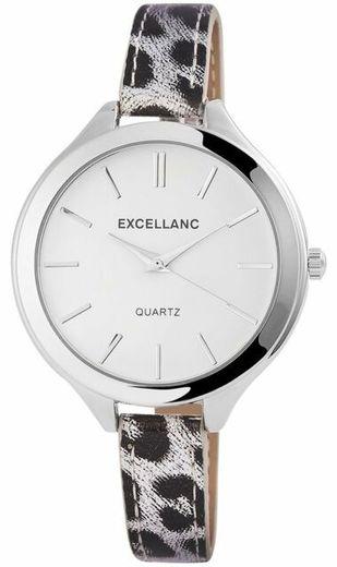 Reloj Leopardo Blanco