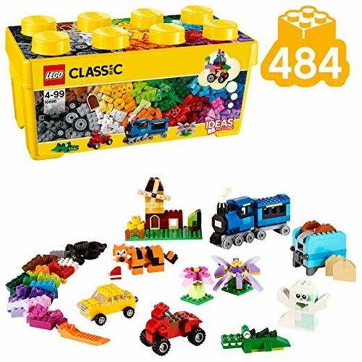 LEGO Classic - Caja de Ladrillos Creativa Mediana, Juguete de Construcción