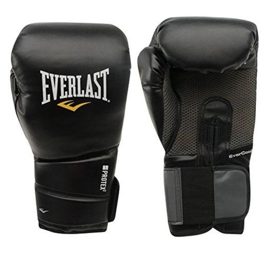 Everlast Protex 2 Entrenar Guantes Box Mma Boxeo Boxeo Deporte Ejercicios Negro