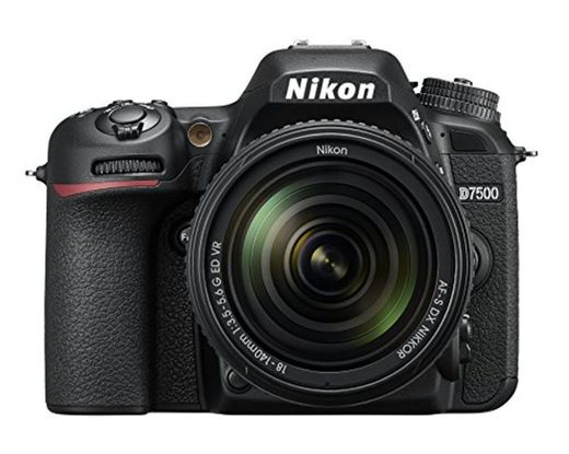 Nikkon D7500 - Cámara réflex digital de 20.9 Mp
