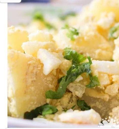 Salada mega rápida de batata para degustar🤭