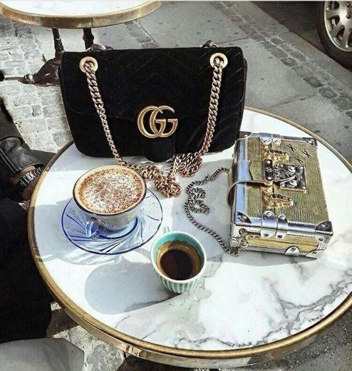 Café com Gucci 🔥