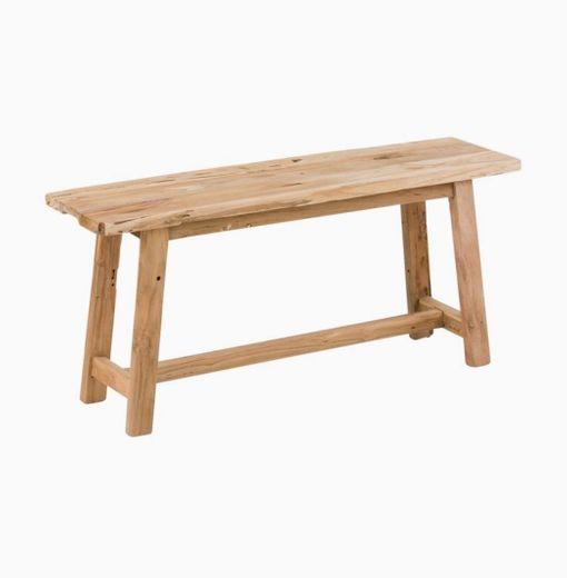 Banco de madera de teca Lawas   WestwingNow
