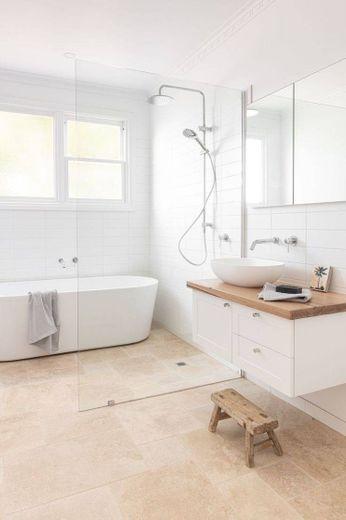 Banheiro clean minimalista ◽
