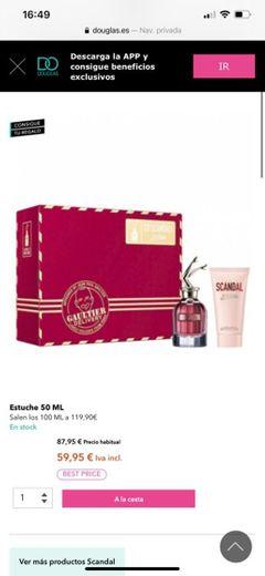 Jean Paul Gaultier Estuche So Scandal Eau de Parfum - Perfumes (0)