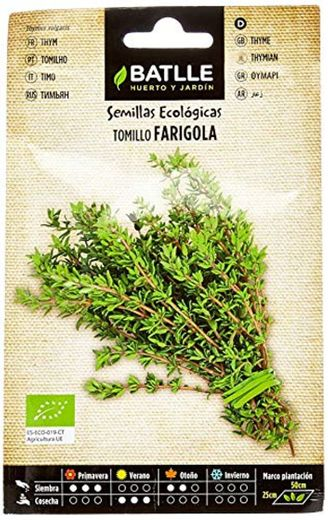 Semillas Ecológicas Aromáticas