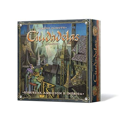 Asmodee - Ciudadelas Clásico, juego de mesa
