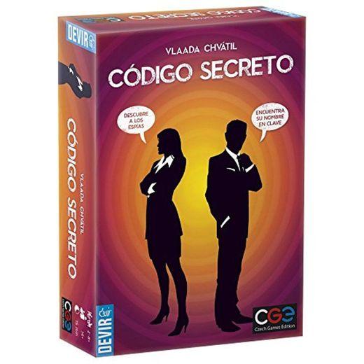 Devir Código Secreto Juego de Mesa