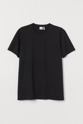 Camiseta negra premium HM