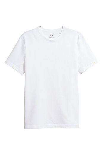 Camiseta blanca premium HM