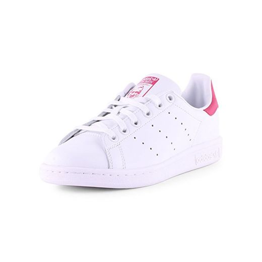 adidas Stan Smith J, Zapatillas Unisex Niños,  Blanco