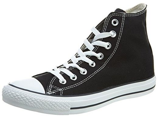 Converse Chuck Taylor All Star Hi, Zapatillas Unisex Adulto, Negro