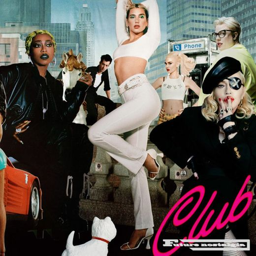 Dualipa, missy elliot ft Madonna - Levitating