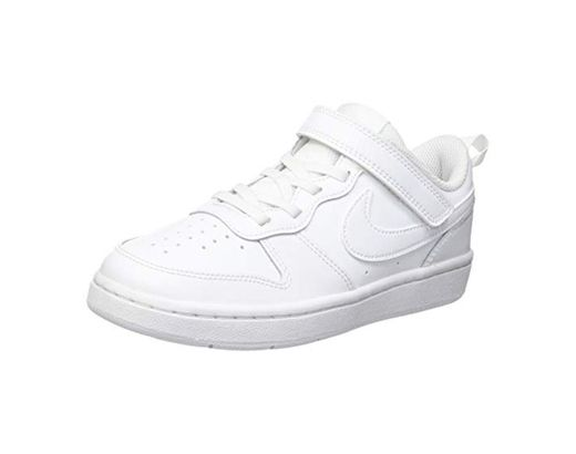 NIKE Court Borough Low 2, Sneaker Boys, White