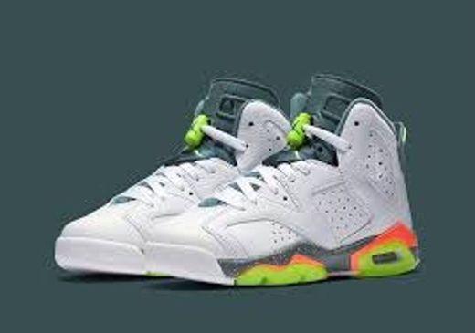 Jordan 6 Retro, Zapatillas de Deporte para Hombre, Multicolor